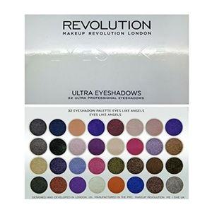 Makeup Revolution eyeshadow like an angel palette